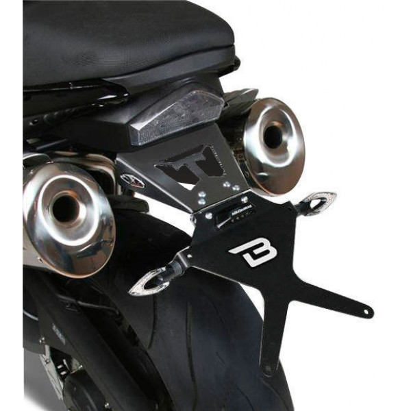 PORTAMATRICULAS  TRIUMPH SPEED TRIPLE 05-07
