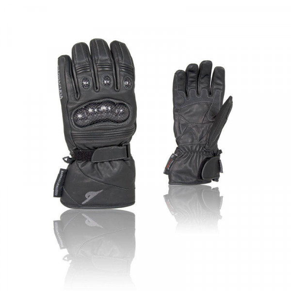 GUANTES RACING BARRACUDA PIEL/CARBON (PAR)